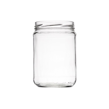Image de Bocal 555ml verre TO82 transparent