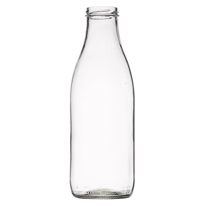 Picture of Juice bottle 1.040ml glass TO48 clear