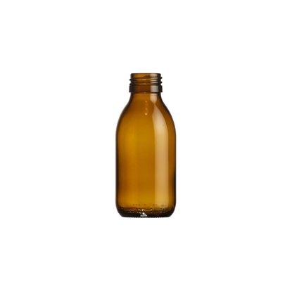 Picture of Syrup bottle 125ml glass amber ROPP28