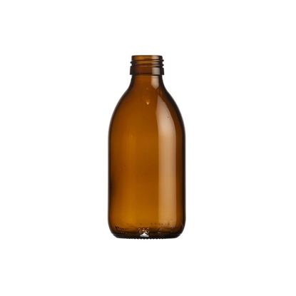 Picture of Syrup bottle 250ml glass amber ROPP28