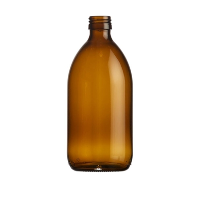 Picture of Syrup bottle 500ml glass amber ROPP28