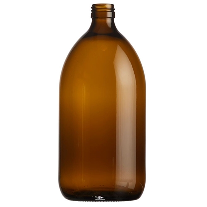 Picture of Syrup bottle 1000ml glass amber ROPP28