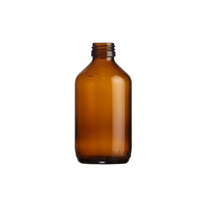 Picture of Veral Bottle  250ml glass amber ROPP28