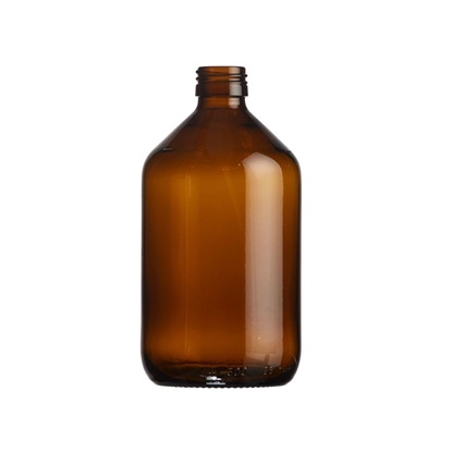 Picture of Veral Bottle 500ml glass amber ROPP28
