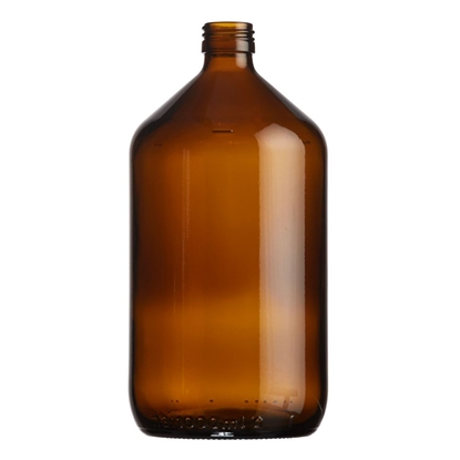 Picture of Veral Bottle 1000ml glass amber ROPP28
