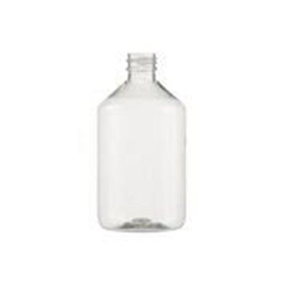 Image de Flacon veral PET transparent 500ml PP 28 par 76
