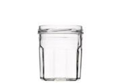 Image de Bocal 324ml verre 10 facettes TO82 transparent