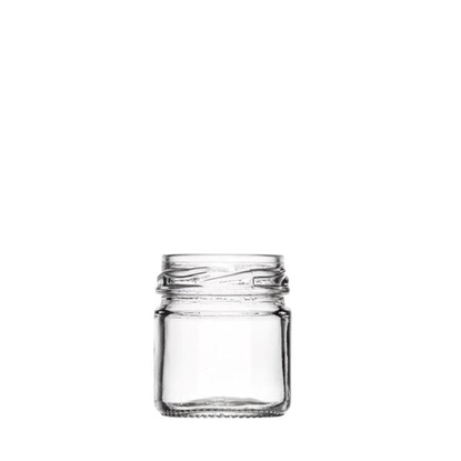 Image de Pot portion 42ml verre TO43 transparent