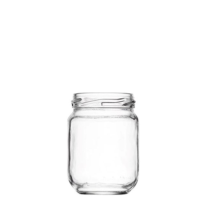 Image de Bocal Standard 100ml verre TO48 transparent