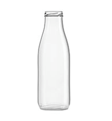 Picture of Juice bottle 500ml glass TO48 clear