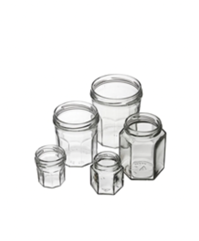 Picture for category Hexagonal jar glass